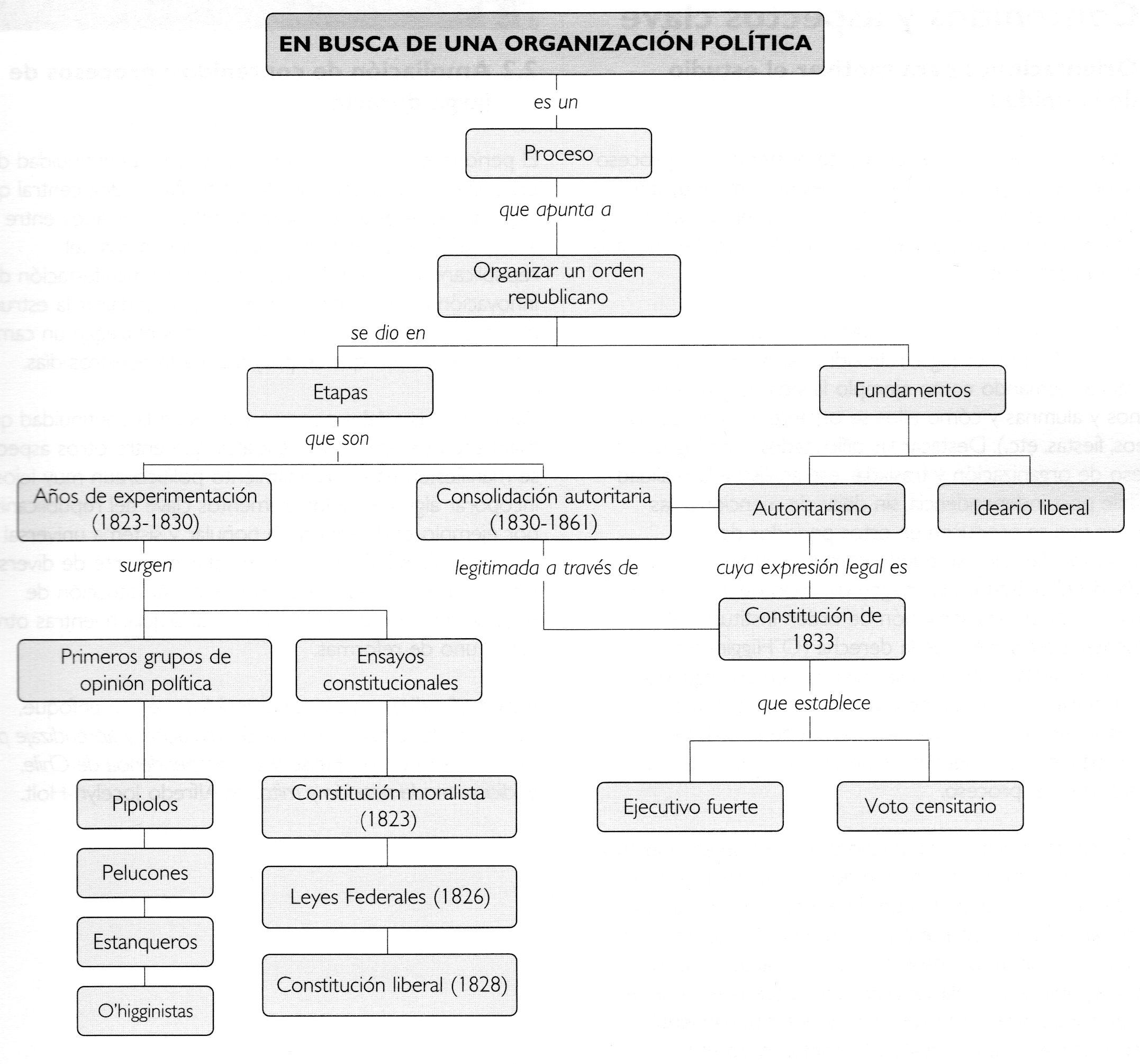 la politica de la organizacion: